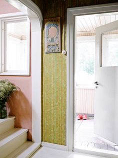 """This inviting entrance is from our feature """"Labour of Love"""""""