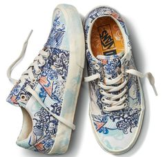 5bb5d6ca2e These Artsy New Vans Sneakers Are Selling Out Like Lightning