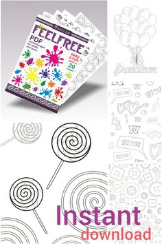Fun Adult Coloring Book Digital Download Pdf, Simple Coloring Pages for grown-ups, Easy Printable Coloring Patterns, Coloring Sheets, Creative Activity for Adults, Livres coloriage adulte, Libro de colorear, Malbuch, 大人の塗り絵
