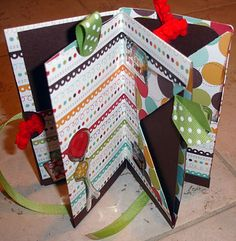 Scrap Yard Chicks-Scrapbooking Workshops & Kits: Day 9 One Sheet Mini Album-10 Days of Christmas Gifts