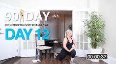 BIKINI BODY MOMMY CHALLENGE: WORKOUT DAY 12 - Bikini Body Mommy
