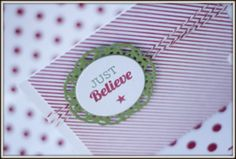 Just Believe card made by Lifestyle Crafts... For neighbor kids @vivint #letsneighbor Shannon C