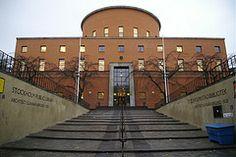 Stockholm Library by Gunnar Asplund