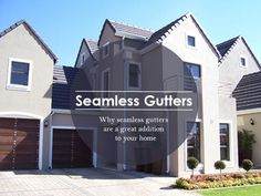 Your guttering system is one of the most important aspects of your house. Seamless guttering is the best form of guttering for both residential and industrial buildings, plus they give your home that extra little touch of beauty. Seamless Gutters, Buildings, Multi Story Building, Articles, Industrial, Touch, Mansions, House Styles, Beauty