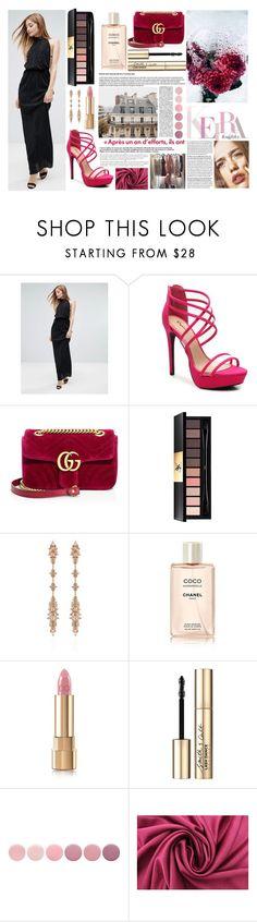 """Dress"" by aletraghetti on Polyvore featuring moda, Love, Gucci, Yves Saint Laurent, Fernando Jorge, Chanel, Anja, Dolce&Gabbana, Smith & Cult y Deborah Lippmann"
