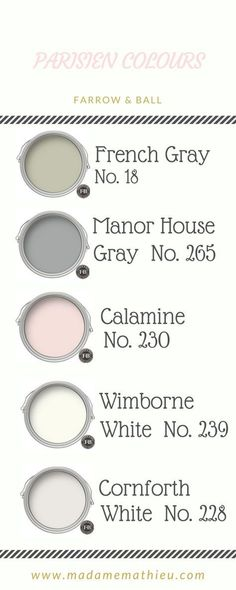 New Painting Bedroom Colors Farrow Ball Ideas – toptrendpin. Living Room White, White Rooms, Living Room Paint, Living Rooms, Small Living, Bedroom Color Schemes, Bedroom Paint Colors, Colour Schemes, Colour Palettes