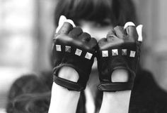 Give 'em a piece of your studded knuckles
