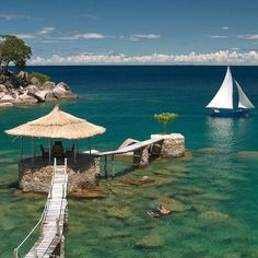 Lake Malawi, Africa   How relaxed would you feel if you were here on vacation?