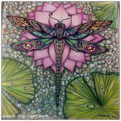 Fabulous Drawing On Creativity Ideas. Captivating Drawing On Creativity Ideas. Dragonfly Art, Dragonfly Tattoo, Adult Coloring, Coloring Books, Coloring Pages, Illustration, Art Projects, Artsy, Instagram