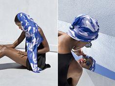 Habutai silk scarves from NYC-based designer Mansi Shah. via honestly...wtf