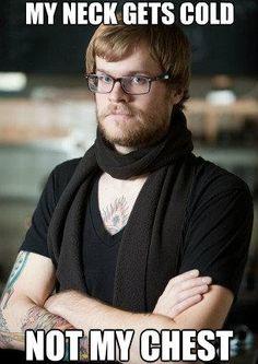 hypocritical hipster barista