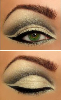 Amazing Green Eye Look