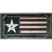 American flag or even a picture frame.