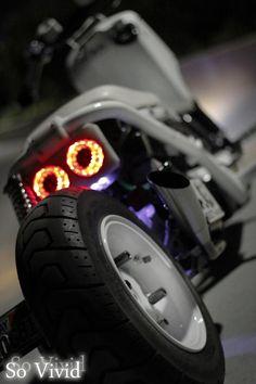 KOSO Afterbuner on Honda Ruckus
