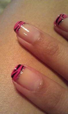 my zebra print nails :) http://www.etsy.com/...