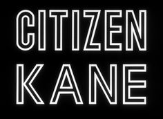 Citizen Kane title sequence
