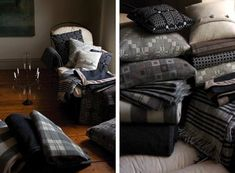 Tregwynt Welsh Tapestry Blankets | Remodelista