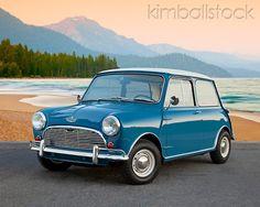 Island Blue Mini Cooper S