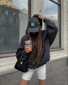Mode Outfits, Sport Outfits, Fall Outfits, Summer Outfits, Fashion Outfits, Bild Girls, Winter Fits, Cute Casual Outfits, Look Cool