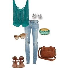 Outfit created by Brooke Johnson on Polyvore