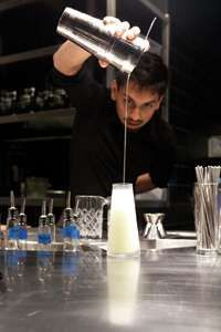 The Aviary Cocktail Bar Experiments with Laboratory Mixology #drinking #experiences trendhunter.com