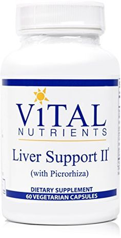 Vital Nutrients - Liver Support II (with Picrorhiza) - Herbal Combination to Support Healthy Liver Function - 60 Capsules -- More info could be found at the image url.