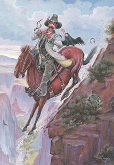 16 Best Leanin Tree Art Images On Pinterest Cowboy Art
