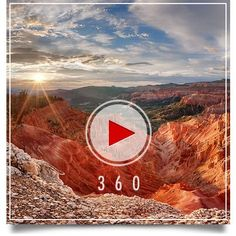 The next best thing to being there... Check out Utah's 360 degrees panoramic views. Many are breathtaking.