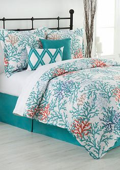 Home Accents® Coral Reef Reversible Bed-In-A-Bag Quilt