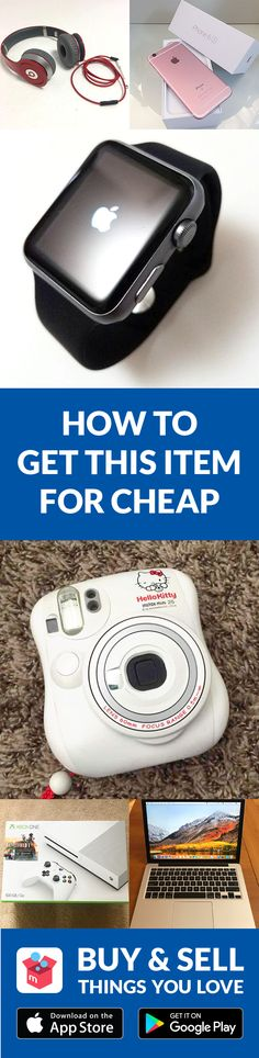 BUY or SELL new/used items like clothing, brand-name bags, shoes, cosmetics, jewelry, electronics, and more. Turn your old items into cash and find new treasures as well–straight from your mobile phone! Shop confidently with our Buyer Protection Guarantee. What are you waiting for? Start using Mercari today!