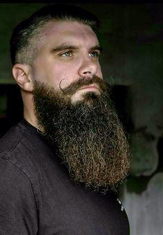 Full deep beard.