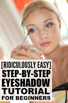 If you love makeup, but have never been able to figure out how to apply eyeshadow properly, this step by step eye makeup tutorial is for you. This look is perfect for everyday and can also be dressed up for evenings out with the gals, and I love how easy and effortless it is! .