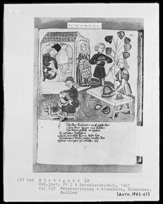 Schachzabelbuch des Konrad von Ammenhausen 1467 - A furrier eff5b4a98e4