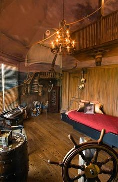 Fresh Pirate Ship Rooms