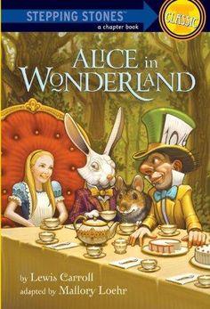 Alice in Wonderland Stepping Stone Book 1