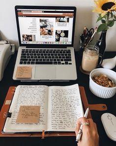 Image about healthy in motivation by Francesca Molteni Book Study, Study Notes, Studyblr, Study Organization, School Study Tips, Productive Day, Study Space, Study Hard, Study Motivation