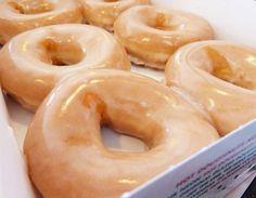 Krispy Kreme, kinda craving doughnuts...