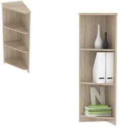 Regál rohový JH030U, dub sonoma Kancelářská sestava JOHAN je dokonale funkčním a prakticky zorganizovaným prostorem, nepostrádajícím ani dostatečně reprezentativní vzhled. Tento systém se skládá ze 16 prvků, ze kterých je možné sestavit kancelář dle vašich … Bookcase, Shelves, Home Decor, Shelving, Decoration Home, Room Decor, Book Shelves, Shelving Units, Home Interior Design
