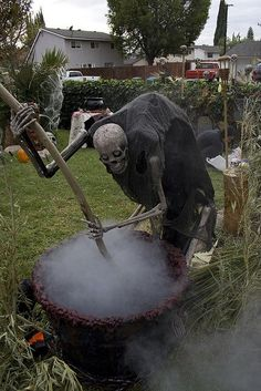 skelly on a spit haunted hayride ideas pinterest