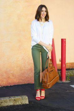 Kacie's Kloset: Pops of Red (fashion blogger)