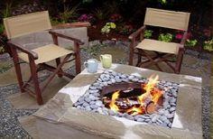 Barbecue en pierres DIY