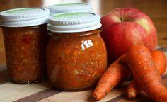 Apple carrot chile chutney