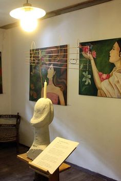 Kunstfest am Kunst-Arbeitshof bei Fam. Exhibitions, Clay, Events, Painting, Art, Pictures, Candles, Painting Art, Paintings