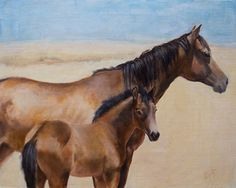 Hash Knife Bloodline Babbitt Ranch by Sarah Kennedy Oil ~ 16 x 20