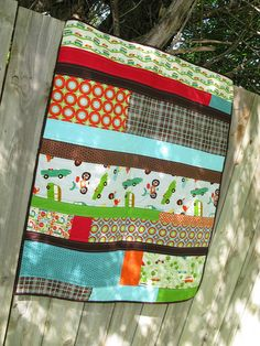 Cute quilt. I love the colors!