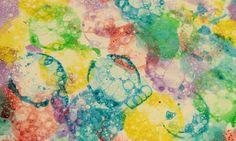 Malování bublinami...