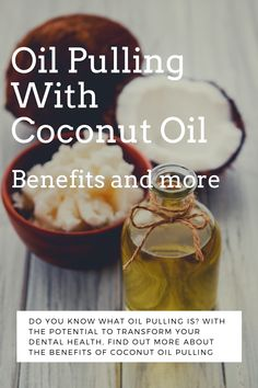 Oil Pulling With Coconut Oil Can Transform Your Dental Health! Learn how right here. Coconut Oil Pulling, Benefits Of Coconut Oil, Do You Know What, Dental Health, Caribbean, Canning, Food, Oral Health, Coconut Oil Benefits