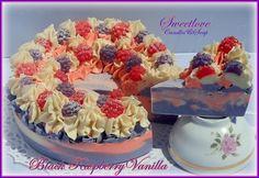 Luxury Soap Cake www.sweetlovecandles.com