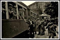 despedida voluntarios division azul rusiaDespedida de invierno. 1942