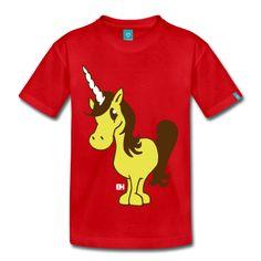 Unicorn T-Shirt. #Spreadshirt #Cardvibes #Tekenaartje #cute #customise